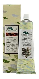 Crema De Tea Tree Y Tomillo . Oficinalis - 110 Ml