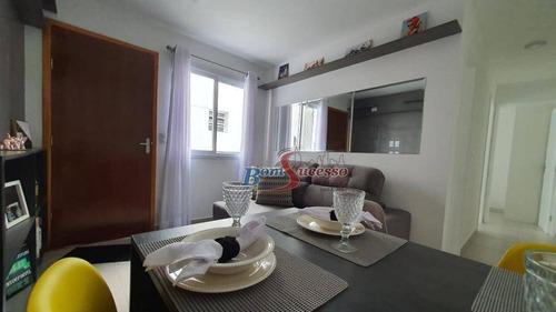 Apartamento Com 2 Dormitórios À Venda, 38 M² Por R$ 159.900,00 - Jardim Helena - São Paulo/sp - Ap2490