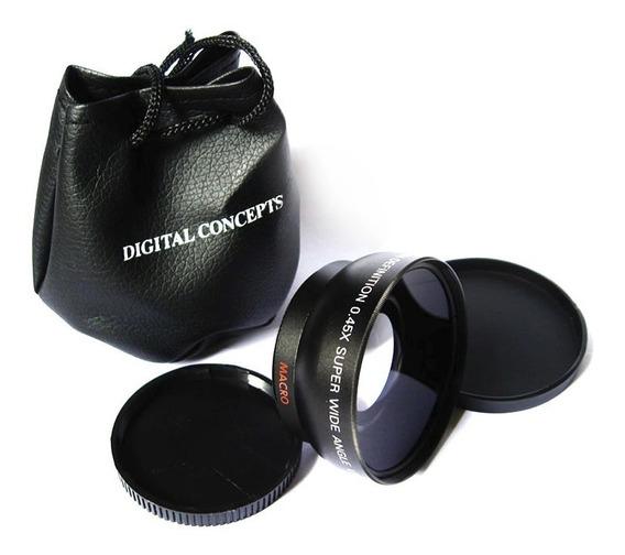 Grande Angular + Macro 55mm Nikon D3400 D3300 D3200 D3100