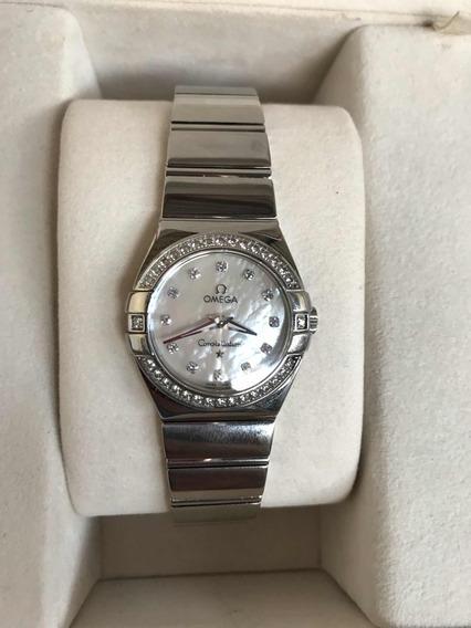 Relógio Omega Com Diamantes