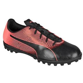 040adee1a2 Tenis Futbol Puma Spirit Niñas Tt Sintetico Negro K75238 Dtt