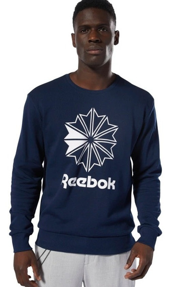 Sudadera Reebok Ac Ft Big Starcrest Crew