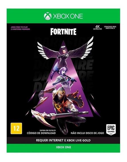 Fortnite Pacotão Fogo Sombrio - Xbox One ( Novo, Lacrado)