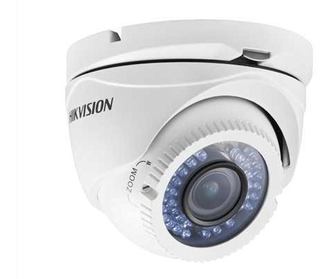 Cámara Hikvision Ds-2ce56c0t-vfir3f Domo Turbo Hd720p 40m Ir