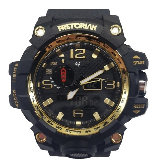 Relógio Pretorian Combat Wprt-08-2 Nf-e