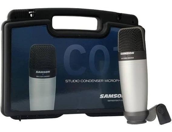Microfone Samson C01 Novo