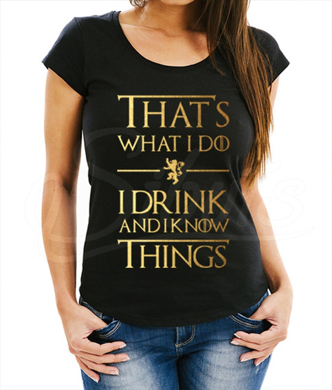 Playera Mujer Game Of Thrones That