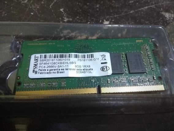 Memoria Smart 8 Gb Ddr4 Pc4 2666v De Notebook 8gb 1rx8