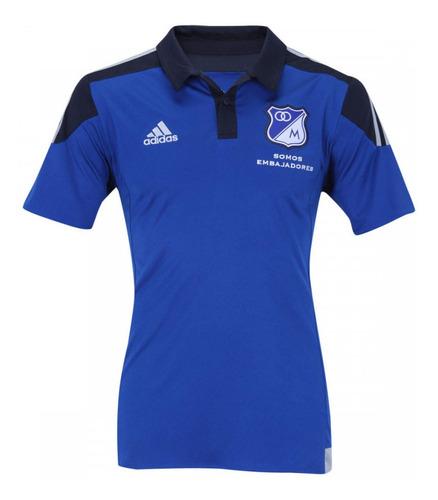 Camisa Masculina Milionários Colombia Azul 2015