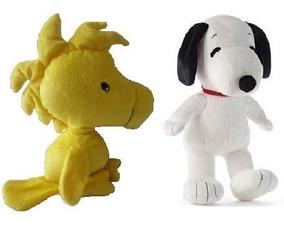 Pelucia Snoopy E Woodstock Amigo Unisex Antialergico Novo