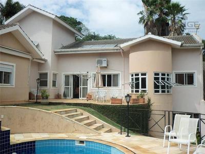 Casa Com 4 Dormitórios À Venda, 500 M² Por R$ 2.150.000 - Jardim Paiquerê - Valinhos/sp - Ca7715