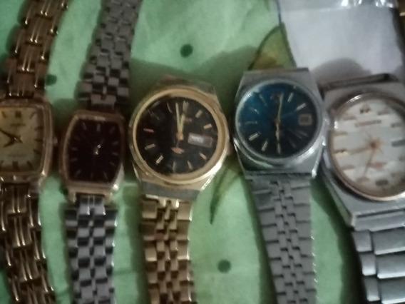 Vendo Relojes Varios Orient Citizen Para Piezas Sirven 2o3