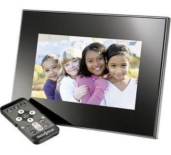 Porta Retrato Digital Insignia Modelo Ns-dpf0712g Memória 128mb Tela De 7 Polegadas Completo Com Todos Acessórios - Zero