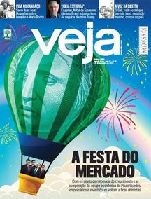 Revista Veja #2610 28/11/2018 A Festa Do Mercado