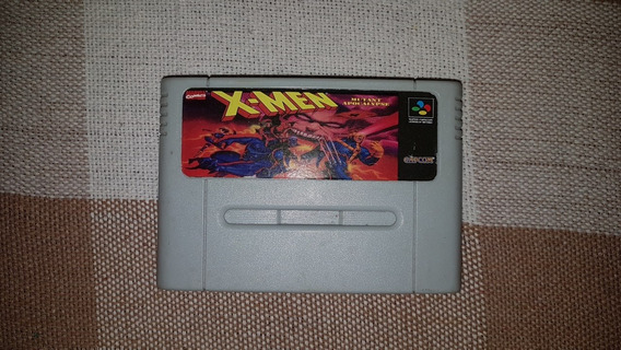 Cartucho Snes X-men Mutant Apocalypse Super Nintendo