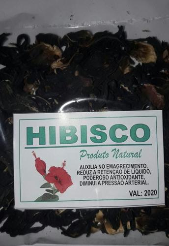 Hibisco Desidratado Kit 3 Pacote C/50g