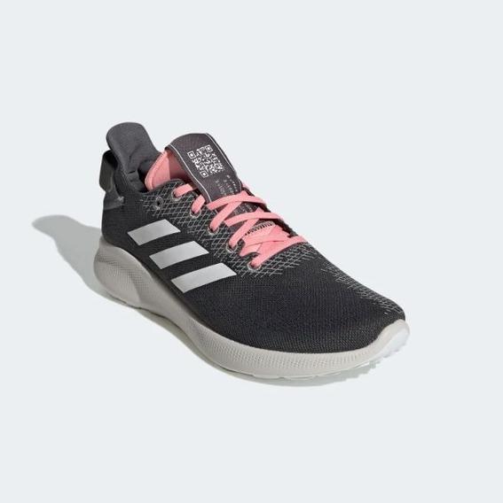 Tênis adidas Sensebounce+street Cinza/rosa