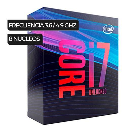 Procesador Intel Core I7-9700k