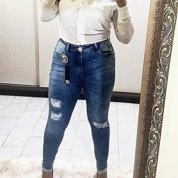 Calça Jeans Tam 50