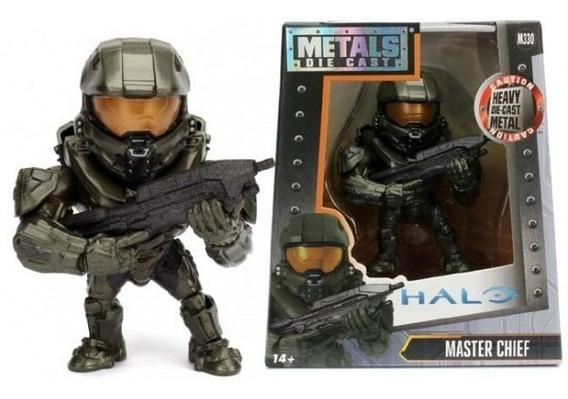 Boneco De Metal Die Cast - Halo - Master Chief M330