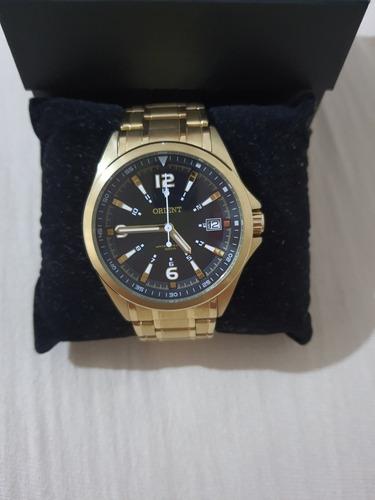 Relógio Orient Masculino Mgss1107 P2kx Dourado - Usado