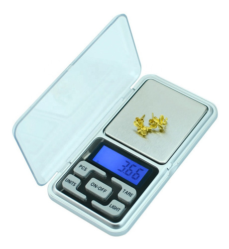 Balanza De Precision Digital 500gr Ideal Para Pesar Oro