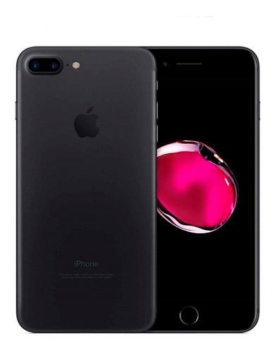 Imagen 1 de 4 de Celular iPhone 7 Plus 128 Gb Black + Funda + Audifonos
