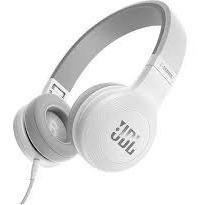 Fone De Ouvido Supra Auricular Com Microfone Jbl E35 Branco