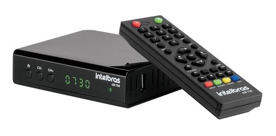 Conversor Tv Digital Gravador Usb Hdmi Rca Intelbras Cd730