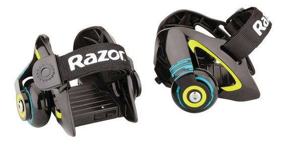 Patines Razor - Jet Heel Wheel Verde - Oferta