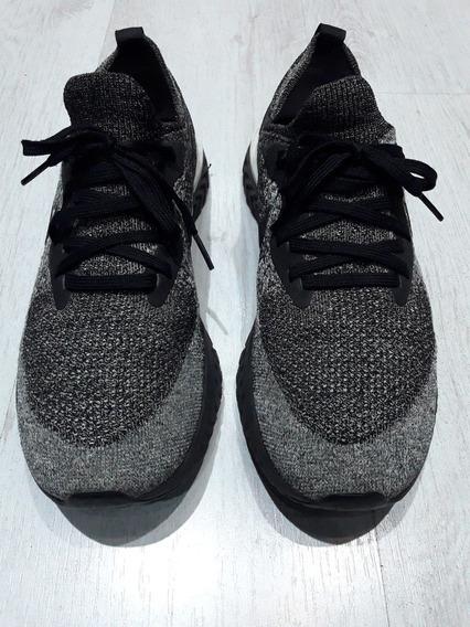Zapatillas Nike Epic React Gris Us 9 Originales Poco Uso