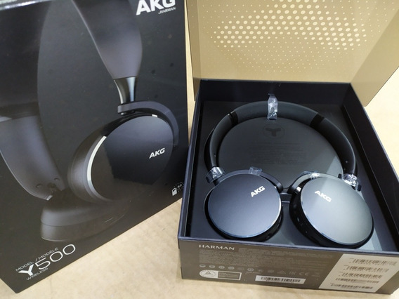 Fone Bluetooth Akg Y500 Wireless Grafite Samsung