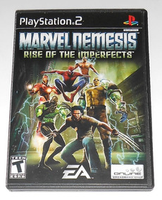 Marvel Nemesis Rise Of The Imperfects Original Completo Ps2