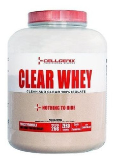 Clear Whey 100% Isolate 1814g - Cellgenix