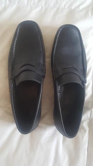 Zapatos De Cuero Mocasines Febo T8