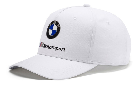 Boné Bmw Team Motorsport 100% Original Puma Aba Curva