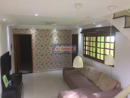 Imagem 1 de 15 de Sobrado Com 3 Dormitórios À Venda, 118 M² Por R$ 540.000 - Jardim Paraventi - Guarulhos/sp - Ai6510