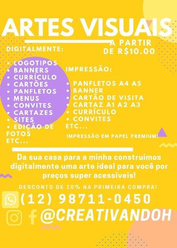 Imagem 1 de 1 de Artes Visuais Digital Ou Impresso - Creativandoh