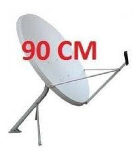 Antena Banda Ku 90 Cm C/ Fixação