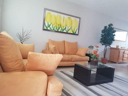 Se Renta Hermosa Casa Amueblada En El Refugio, Roof Garden, Equipada !!