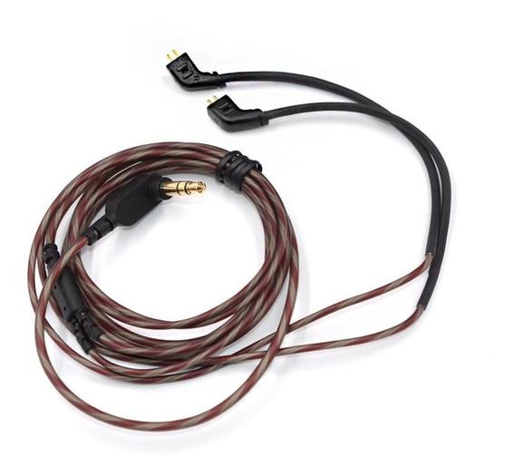 Cable 2 Pin Repuesto Kz Zs10 Zst Ed12 Sin Micro En L