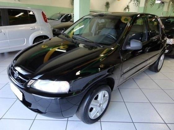 Chevrolet Celta Spirit 1.0 Vhc Preto Flex 4p Manual 2006