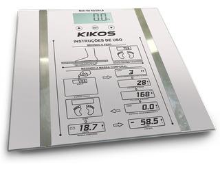 Balança Ison 2.5 Kg A 150 Kg Vidro Temperado Kikos