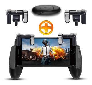 Kit Suporte Game Handler Gamepad + Gatilhos L1 R1 Free Fire