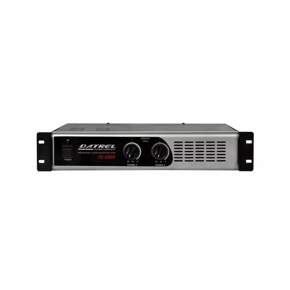 Amplificador Potência Profissional 800w Rms Datrel Pa8000