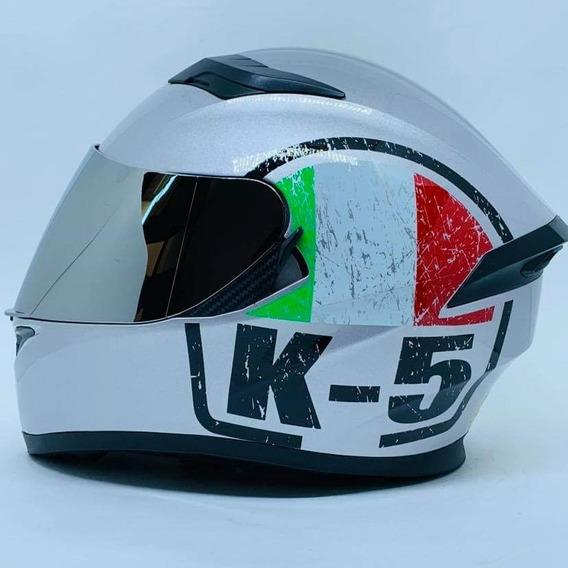 Capacete Valentino Rossi K5 Modelo Novo Promoção Escudero