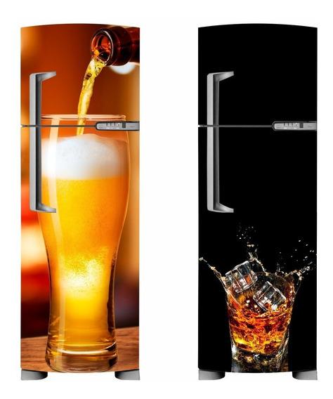 Adesivo De Geladeira Freezer - Envelopamento E Decoração
