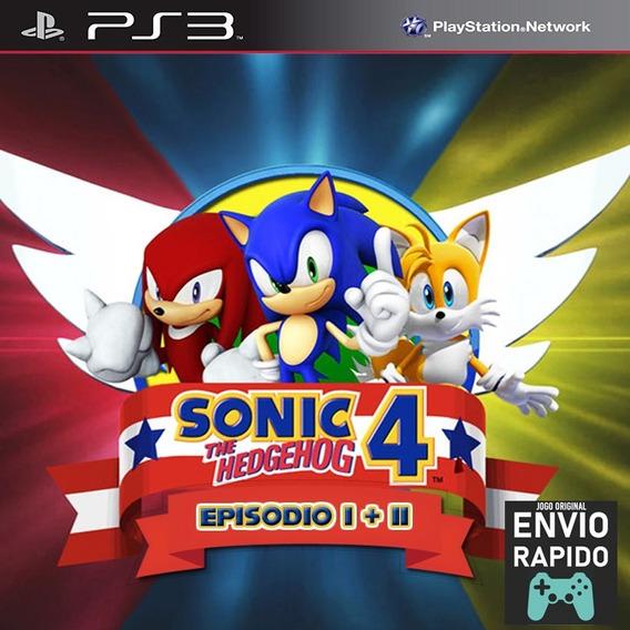 Sonic The Hedgehog 4 Episodio 1 E 2 - Jogos Ps3 Play 3