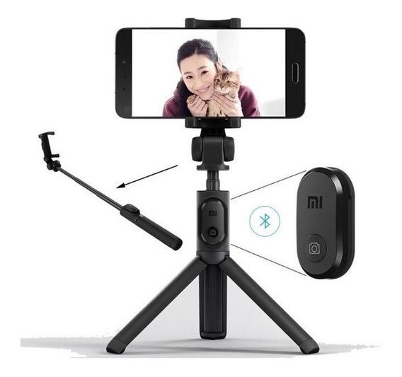 Bastão Pau De Selfie E Tripé Xiaomi Original 360 Bluetooth