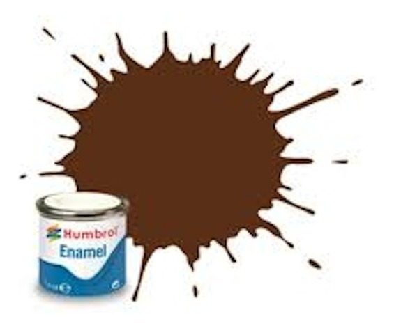 Tinta Enamel German Camouflage Red Brown Matt 160 Humbrol